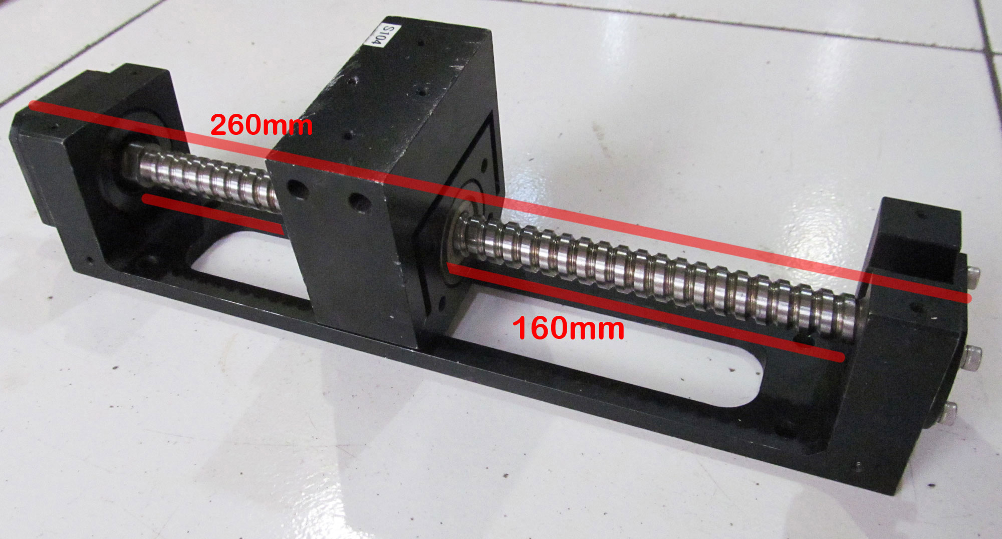 harga Ballscrew+support, travel length 160mm, W1202FA-1P-C3Z, NSK Tokopedia.com