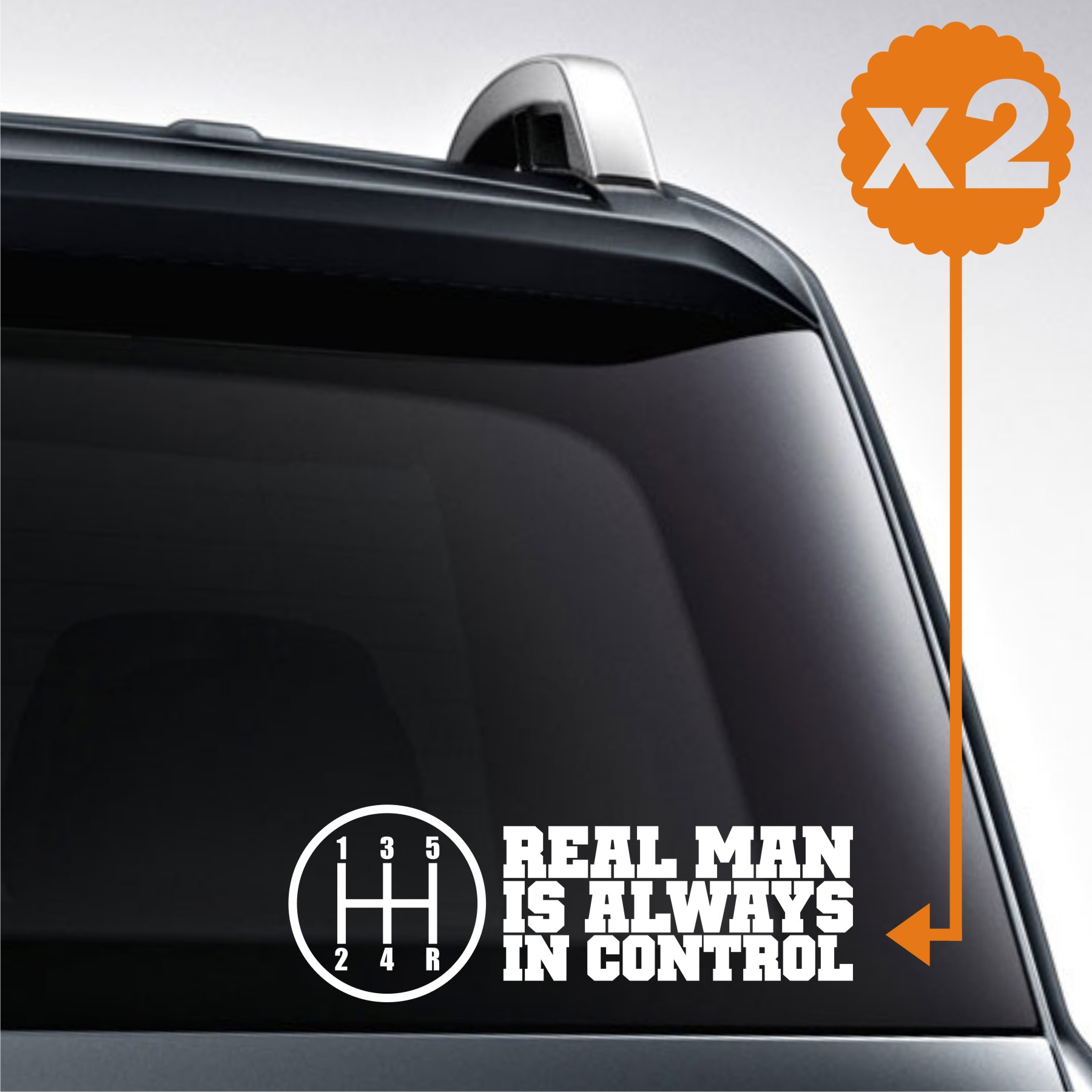 sticker mobil jdm real men avanza mirage agya ayla jazz 2x8