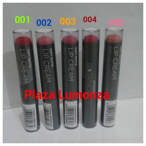 Mineral Botanica Soft Matte Lip Cream 003 Pink Parfaitraisya Source 008 Online Source .