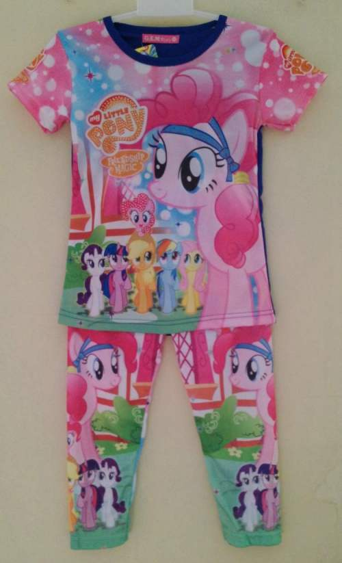 STKD198 - Setelan Anak My Little Pony Friendship Blue