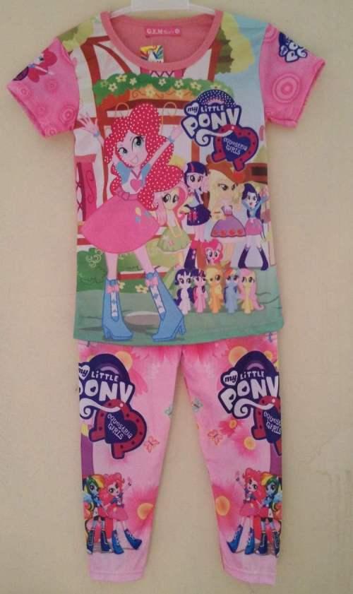 STKD204 - Setelan Anak My Little Pony Equestria Girl Peach