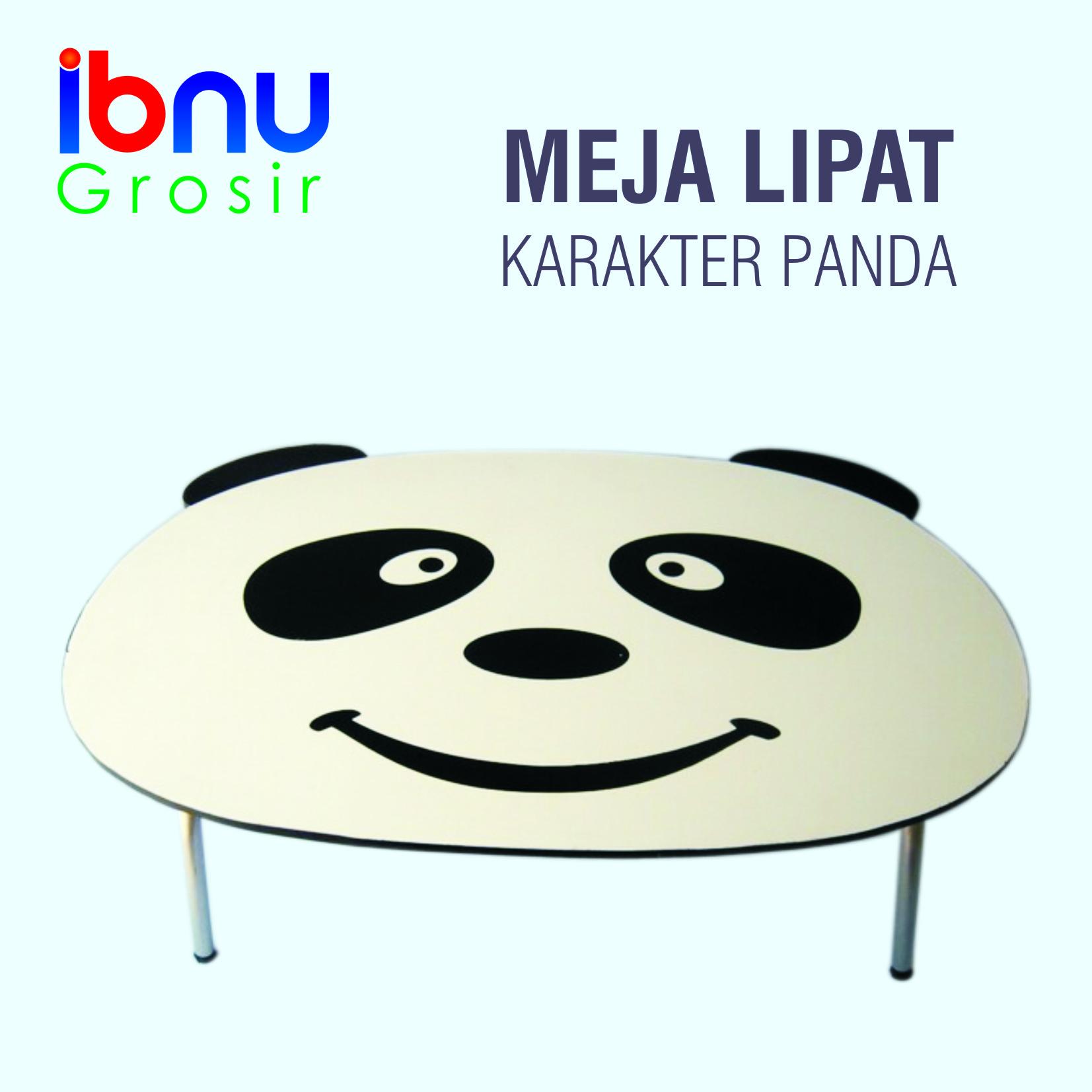 Jual Meja Lipat Karakter Panda Ibnu Grosir Tokopedia