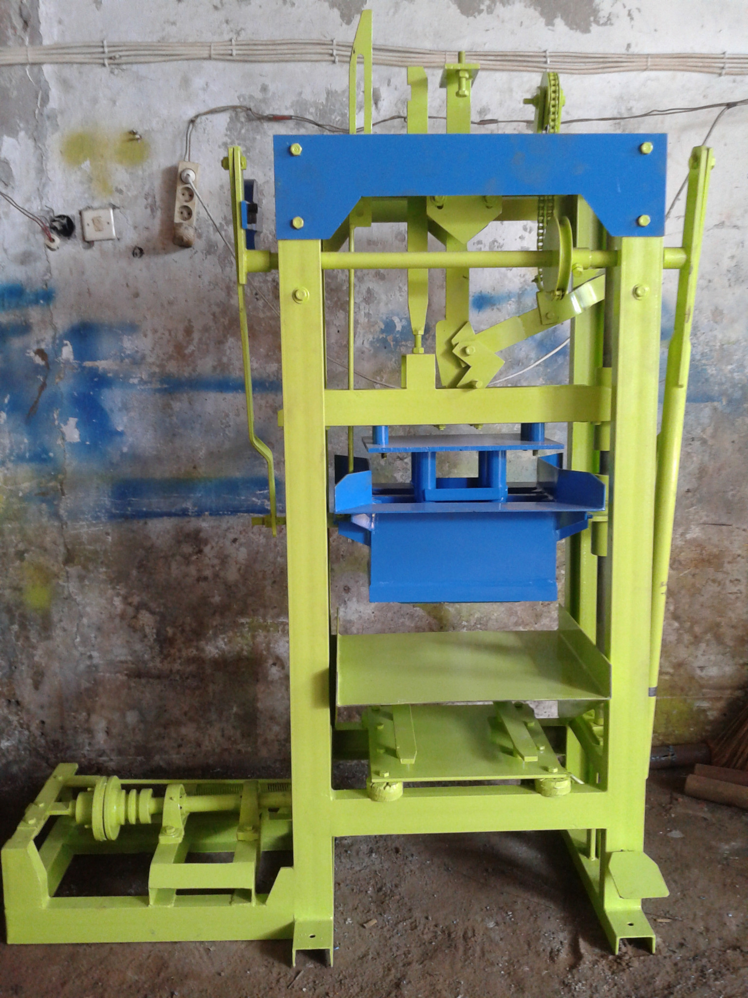 Mesin Cetak Batako/Paving