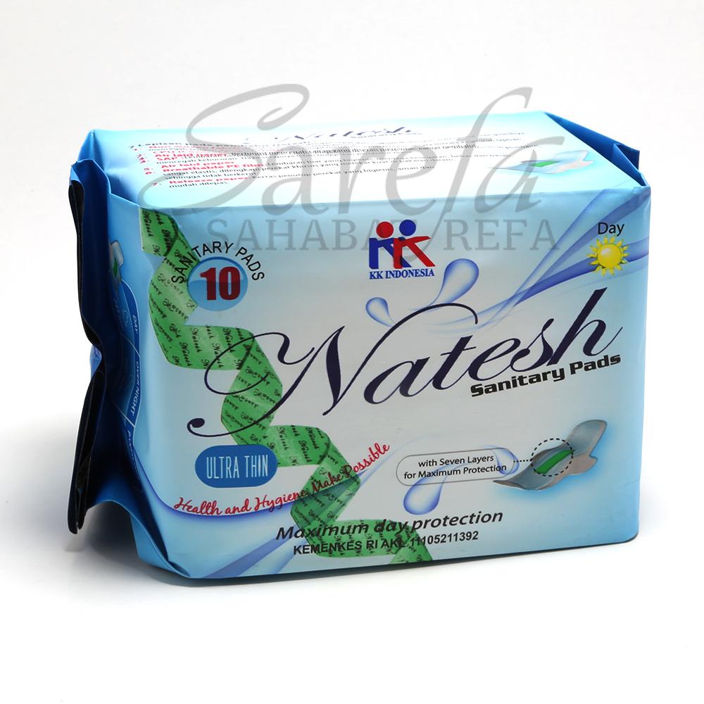 Natesh Pantyliner Pembalut Kesehatan Magnetic Herbal Sanitary Pad Kk Source Jual Bebas Klorin