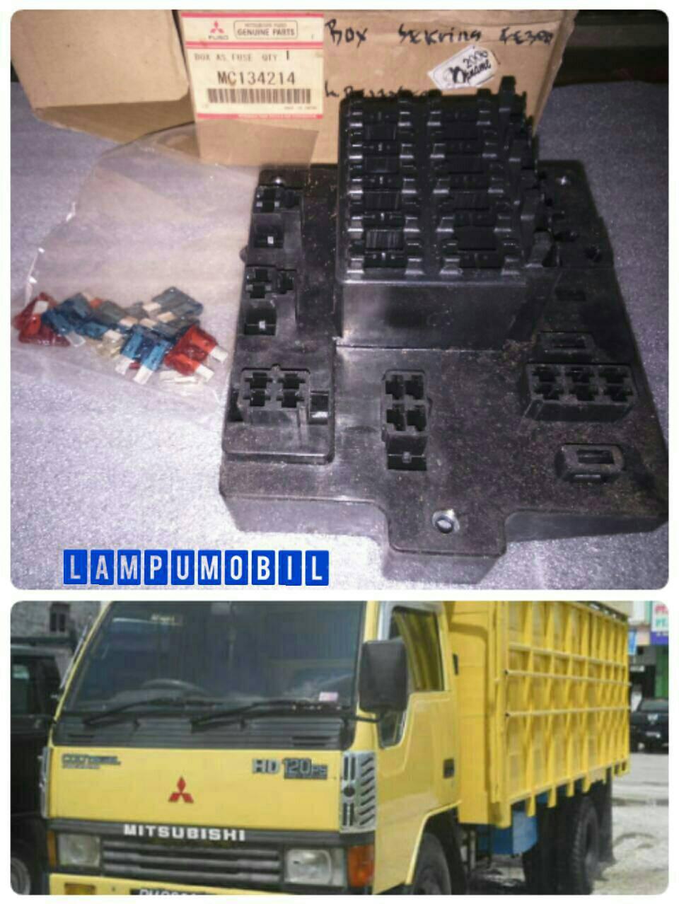 Jual Fuse Box Dudukan Sekring Mitsubishi Colt Diesel Fe300 02 Astra Original Lampumobil Tokopedia