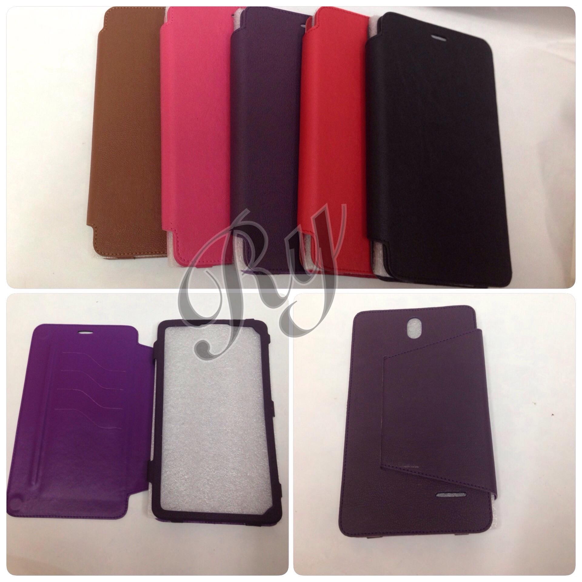 Jual Leather Case Advan X7