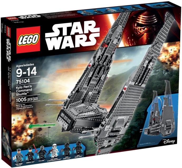 LEGO # 75104 STARWARS KYLO REN'S COMMAND SHUTTLE