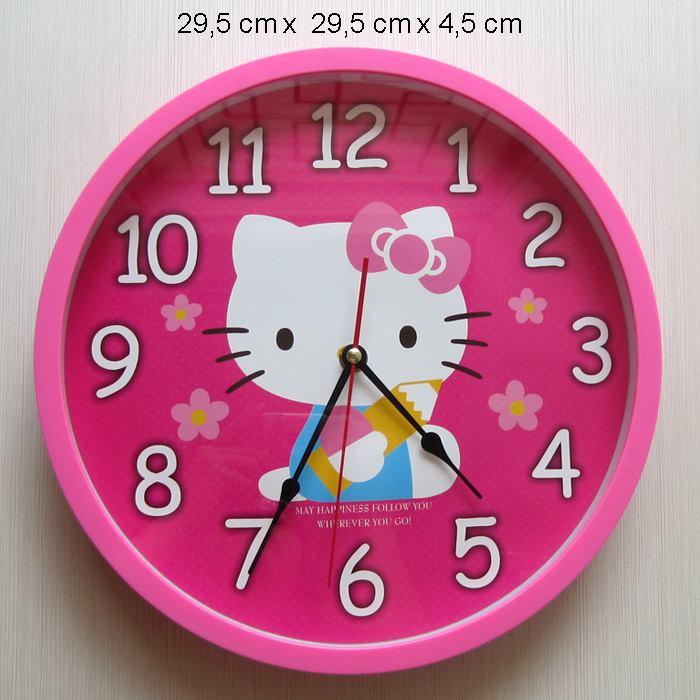 Hello Kitty Jam Dinding Bulat Big Type1