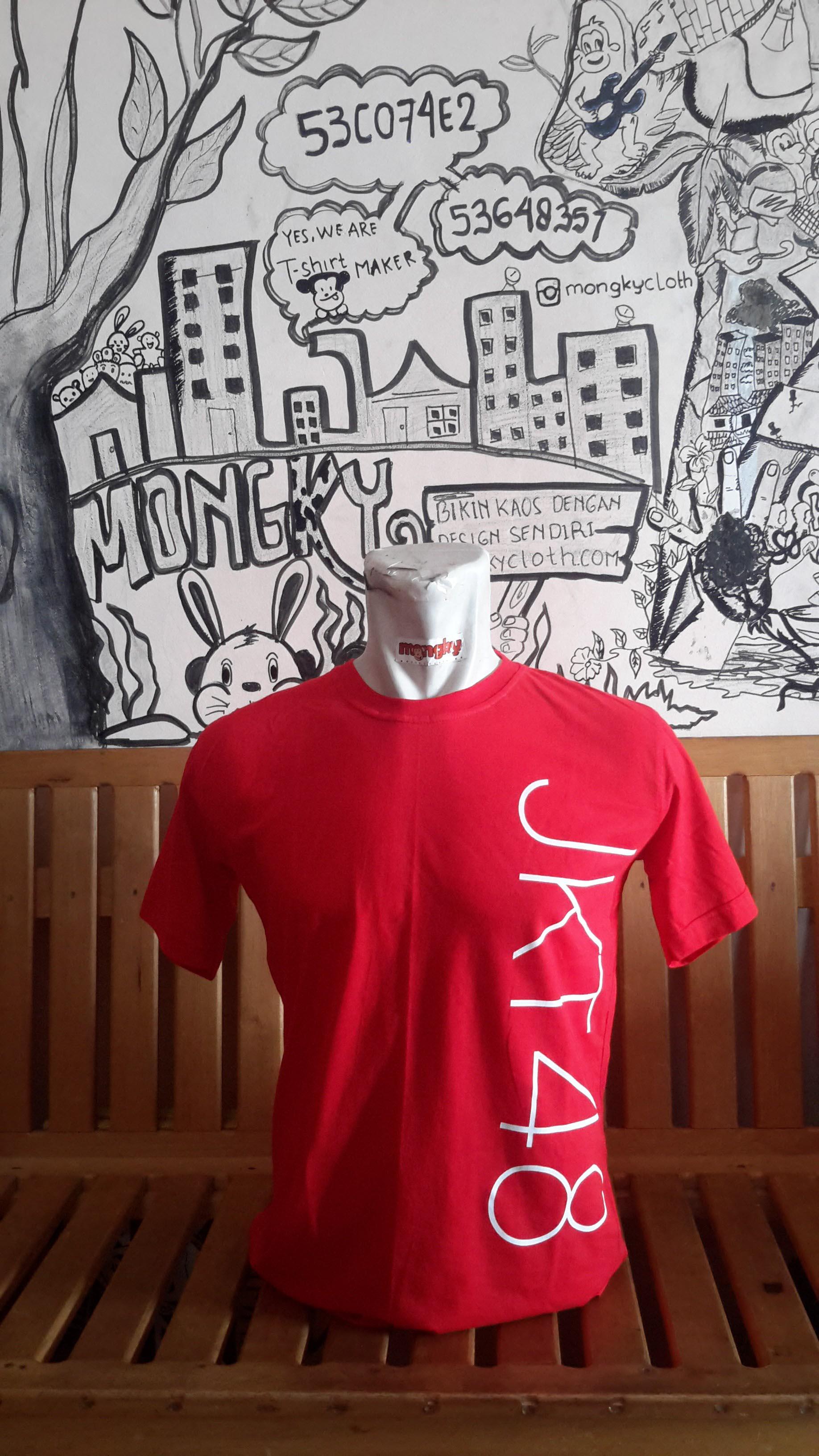 Desain t shirt jkt48 - Kaos Jkt48 Bisa Pakai Desain Sendiri