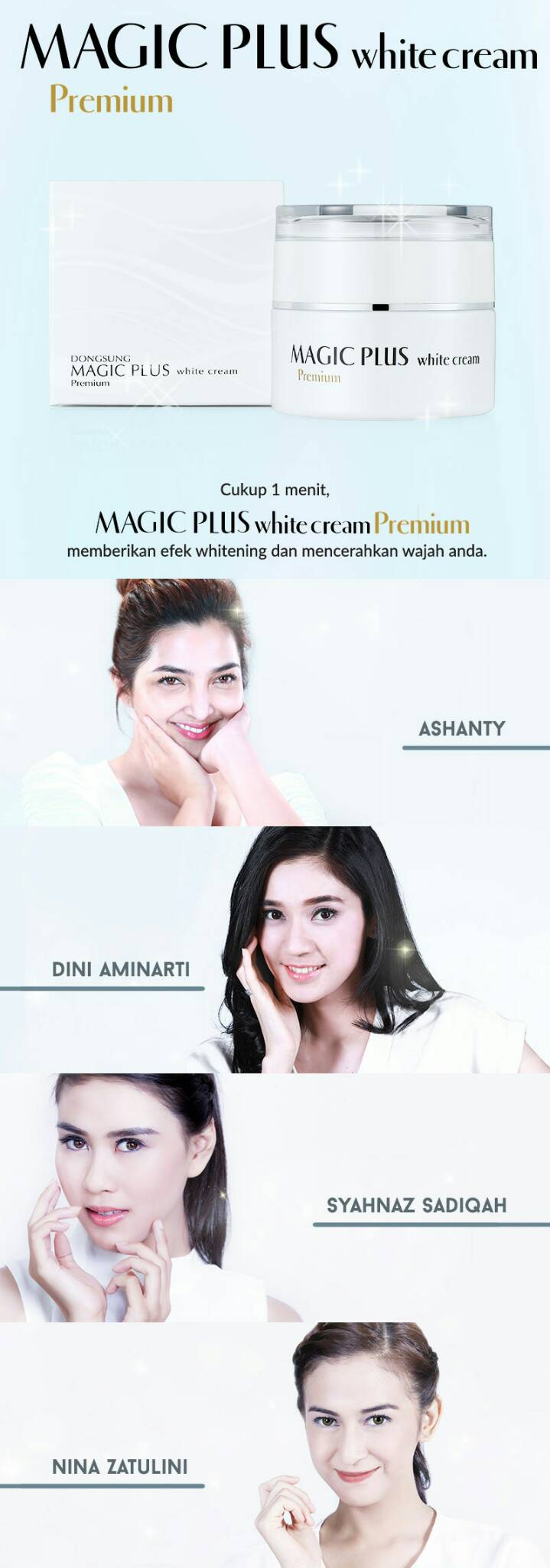 Jual MAGIC PLUS WHITENING CREAM PREMIUM ORIGINAL LEJEL