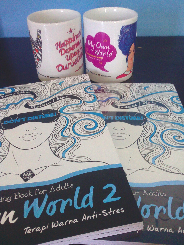 Jual My Own World 2 Coloring Book For Adults Edisi Mandala Greetings