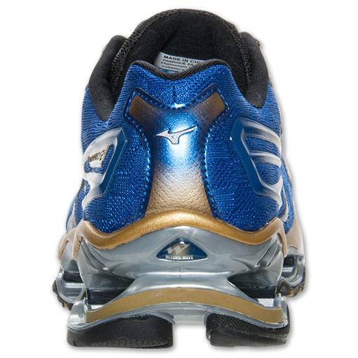 Jual Sepatu Running Volly MIZUNO WAVE PROPHECY 2 Blue Gold