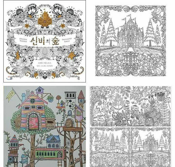 Secret Garden Korea Coloring Book