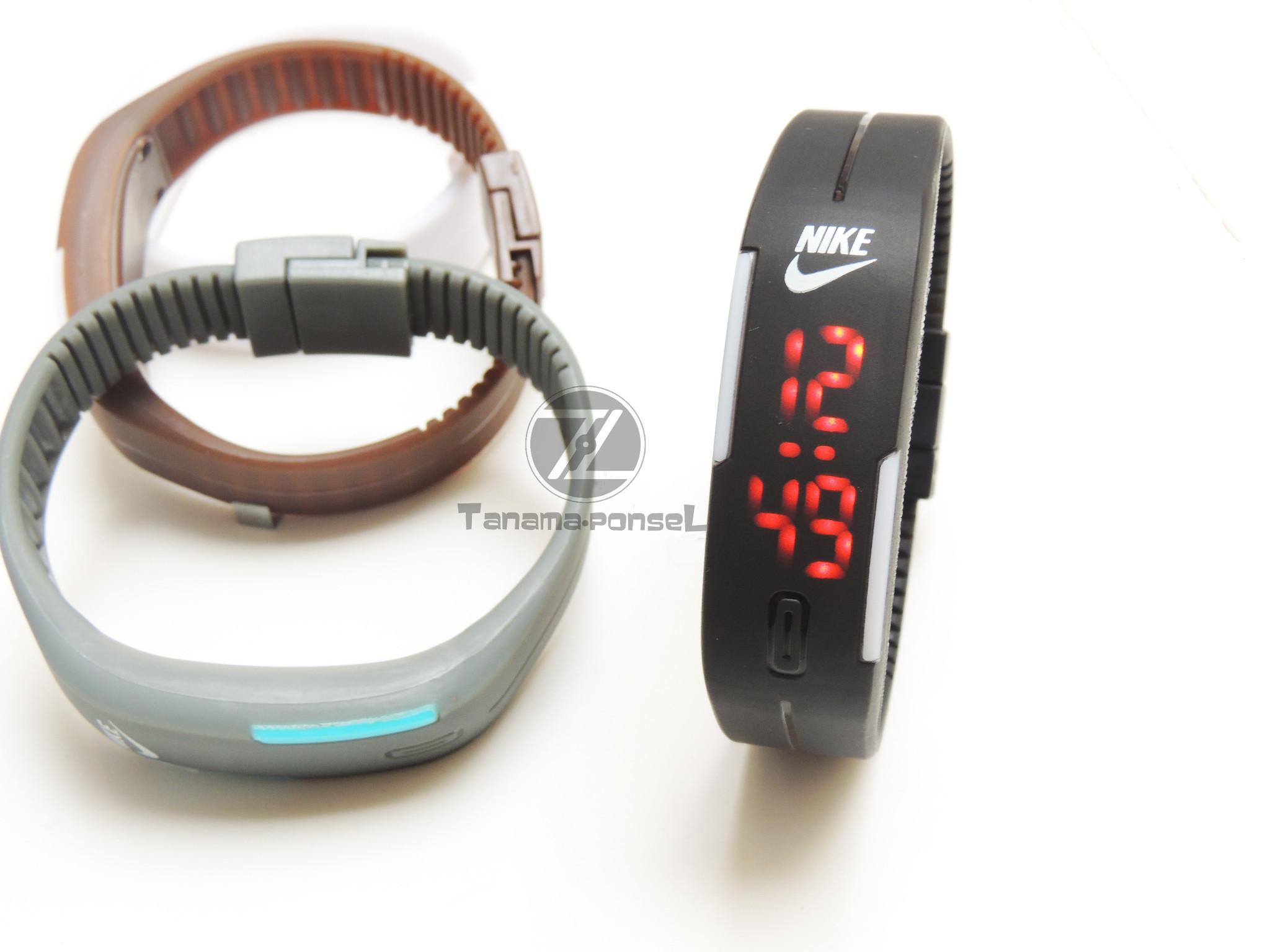 Jual Jam Tangan Gelang LED Nike Adidas Puma Jam LED