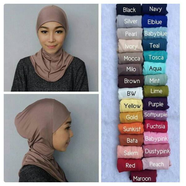 Inner Ninja biasa/Ciput ninja/ Dalaman hijab