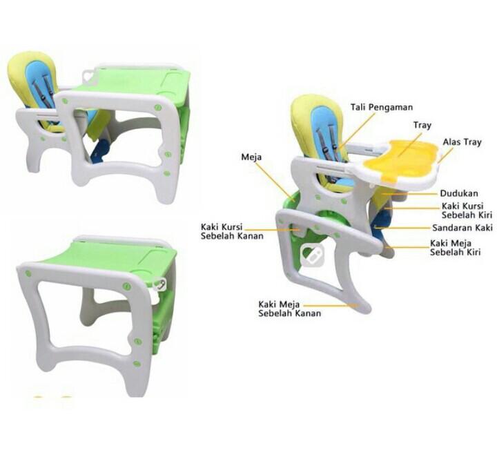 BABY SAFE high chair - kursi dan/atau meja anak