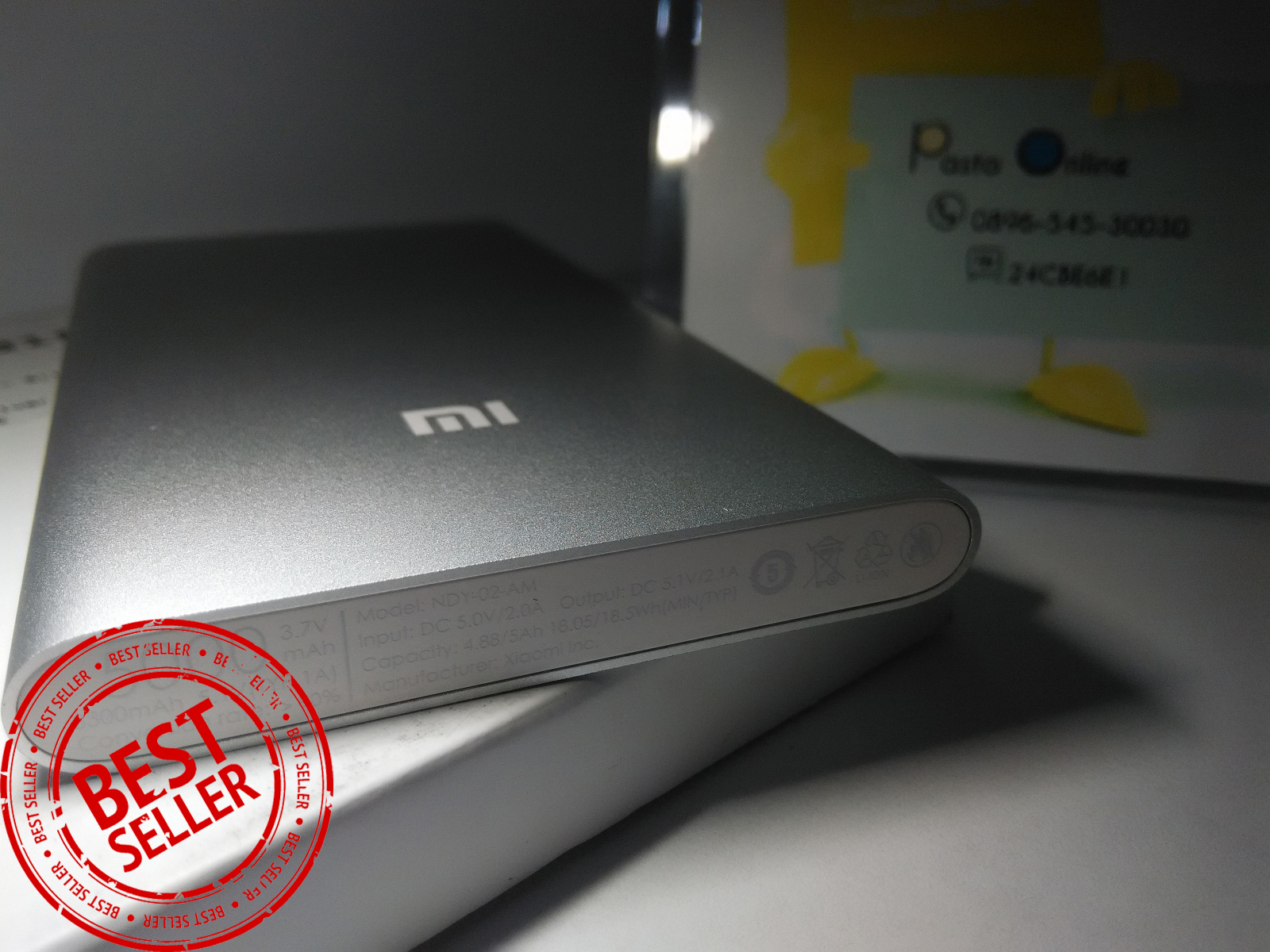 Harga Jual Power Bank Xiaomi Slim Vaku R Redmi Note 4 Powerbank 99000mah Stainless 5000mah Original Resmi