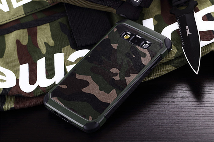 Samsung Galaxy A7 Military Dual Tough Armor Case XPHASE Army Edition