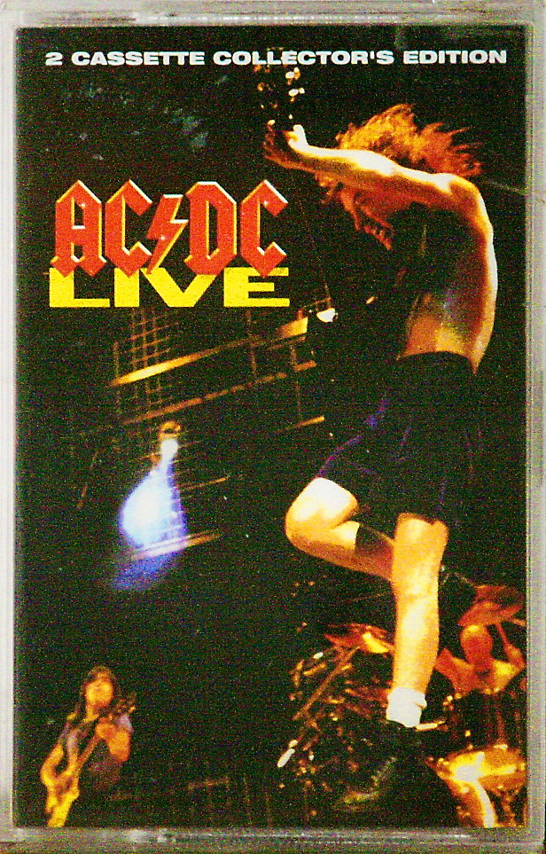 "2 Cassette Collector's Edition ""AC DC - LIVE"""