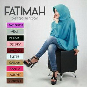 Kerudung / Hijab / Bergo Fatimah