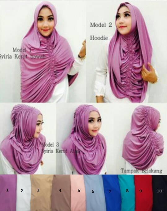 Jilbab Krezia Premium / Hijab Krezia Premium