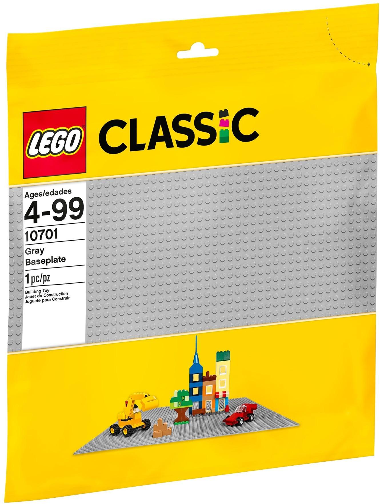 LEGO # 10701 CLASSIC GREY BASE PLATE 48x48 STUDS