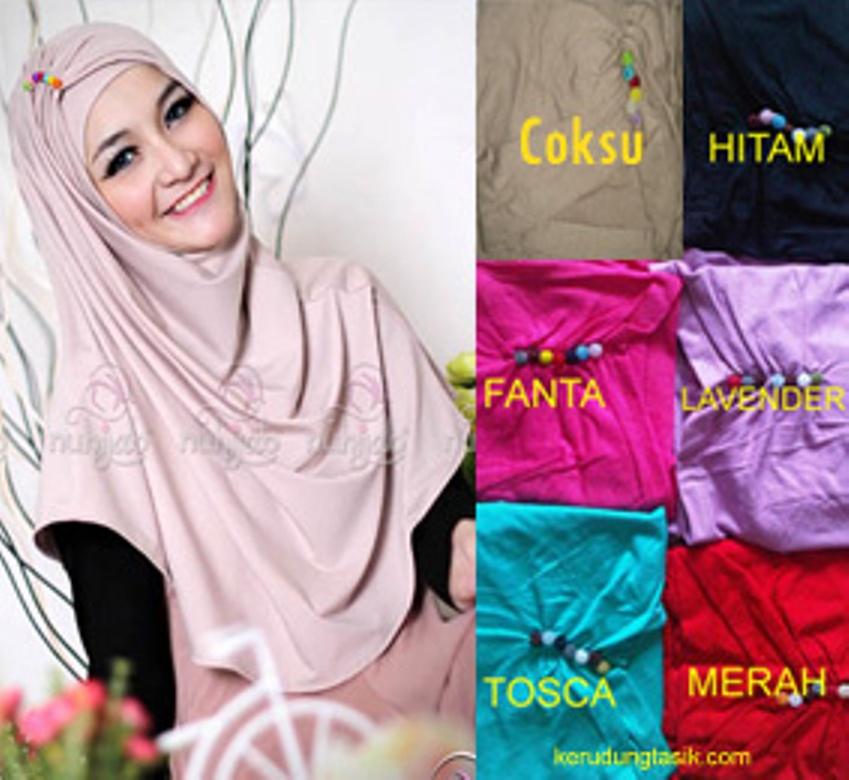 Model Baju Gamis Hijab Jilbab Syar'i Candy