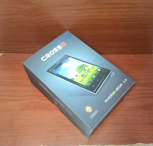 BOX / KOTAK HP CROSS A7