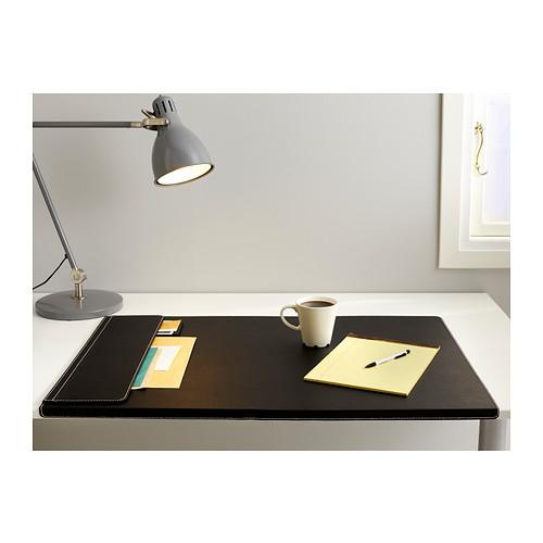 Jual ikea rissla alas meja 58x86 cm hitam sutera ikeaku - Protector escritorio ...