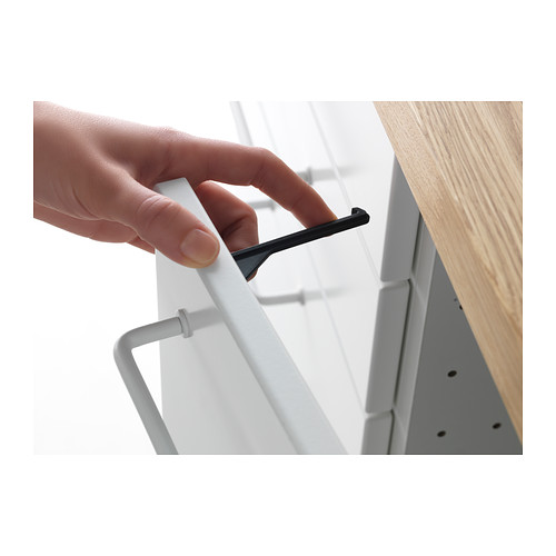 Ikea Aneboda Drawer Runners ~ Jual IKEA PATRULL Penahan laci kabinet 5 pcs, hitam  Sutera IKEAku