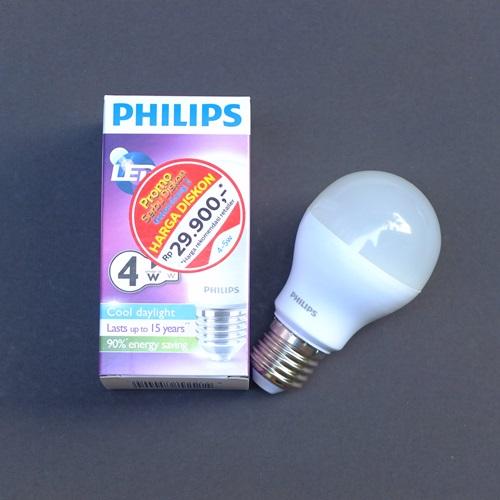 Jual Lampu LED Philips 4 Watt