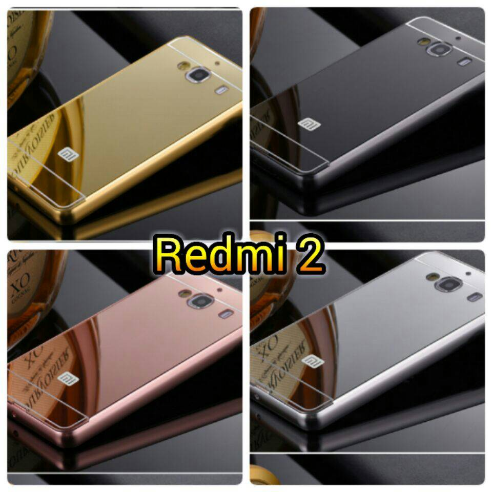 Casing Metal Aluminium Case Xiaomi Redmi 2 2s Prime Gold Daftar Bumper Mirror Note 4 Hard Back Jual Hardcase Hp Source Home