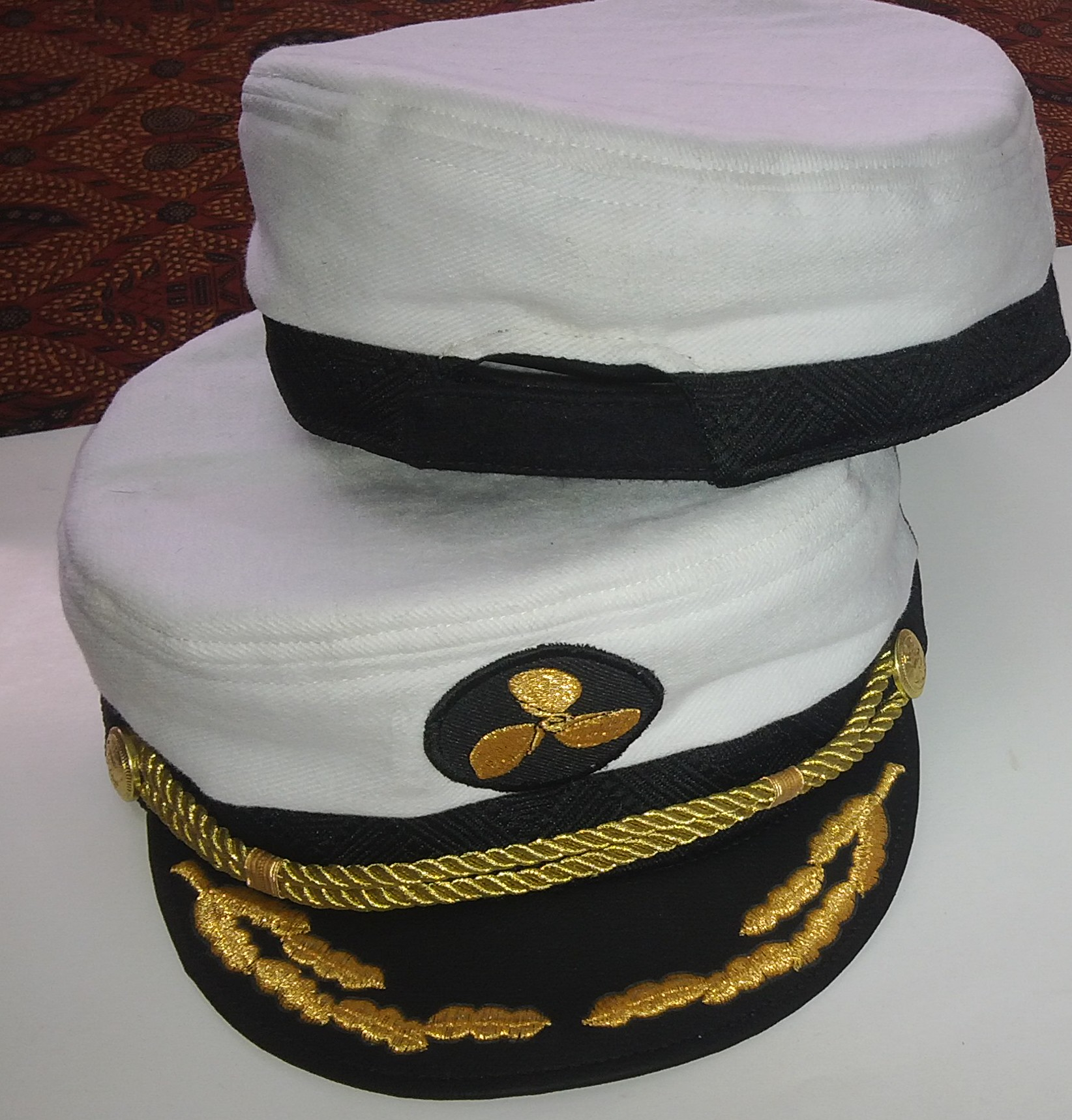 harga Topi Pelaut (Sailor Hat) White Tokopedia.com