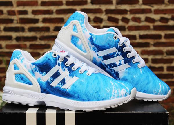 ... sweden jual sepatu running adidas zx flux women biru putih toko grosir  enak tokopedia 0be8e 2d620 0abbb9479d