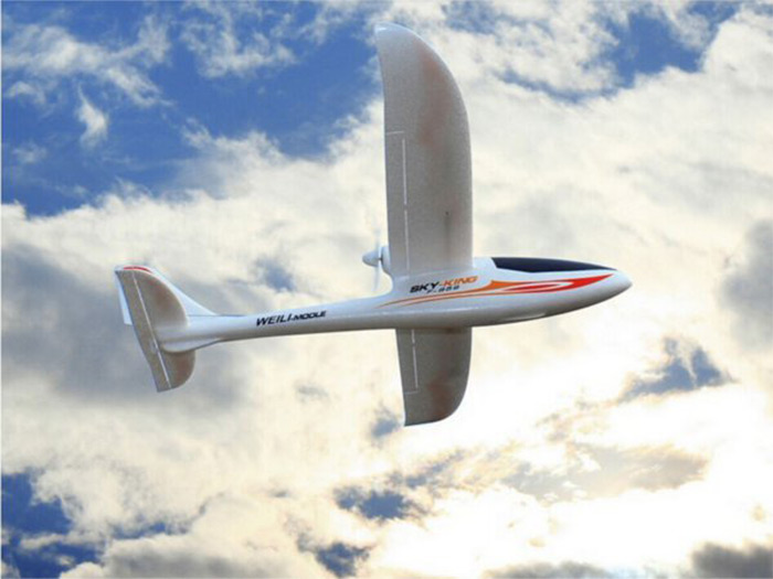 HobbyMall F959 Sky King RC Plane 2.4G 3CH LED 750mm RTF