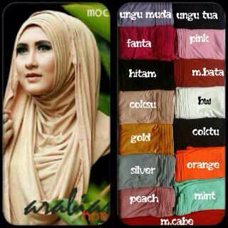 Hijab/Jilbab Long Arabian