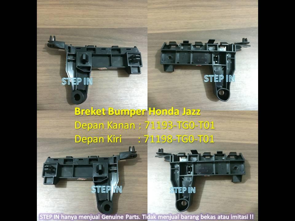 Breket Bumper Depan Honda JAZZ TG0, Bracket Bemper Kanan/Kiri GENUINE