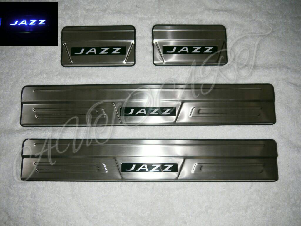 Sill Plate All New Jazz 2015 (Jazz GK) + Led