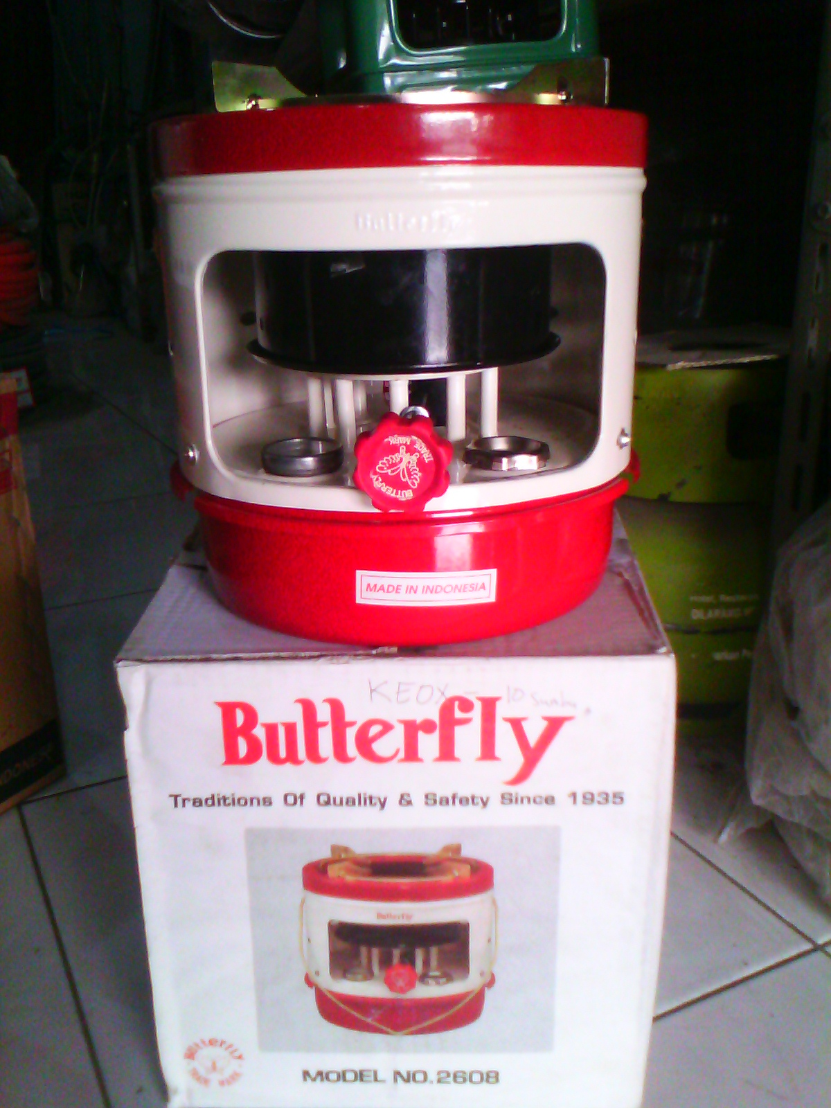 Jual Kompor Minyak Tanah Butterfly 2608