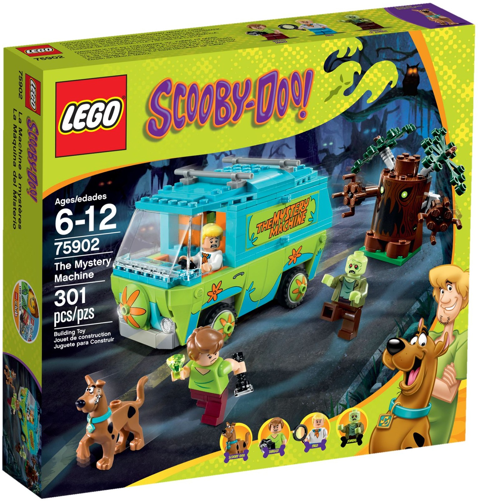 LEGO # 75902 SCOOBY DO THE MYSTERY MACHINE