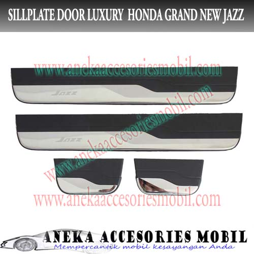 Sillplate Door/Sillplate Samping Honda Grand New Jazz Tanpa Led Luxury