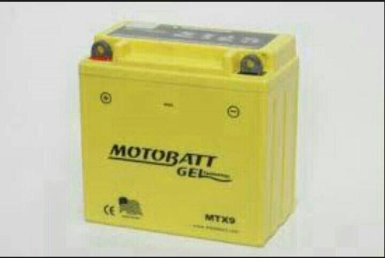 Harga Aki Motor Motobatt MTX9 GEL