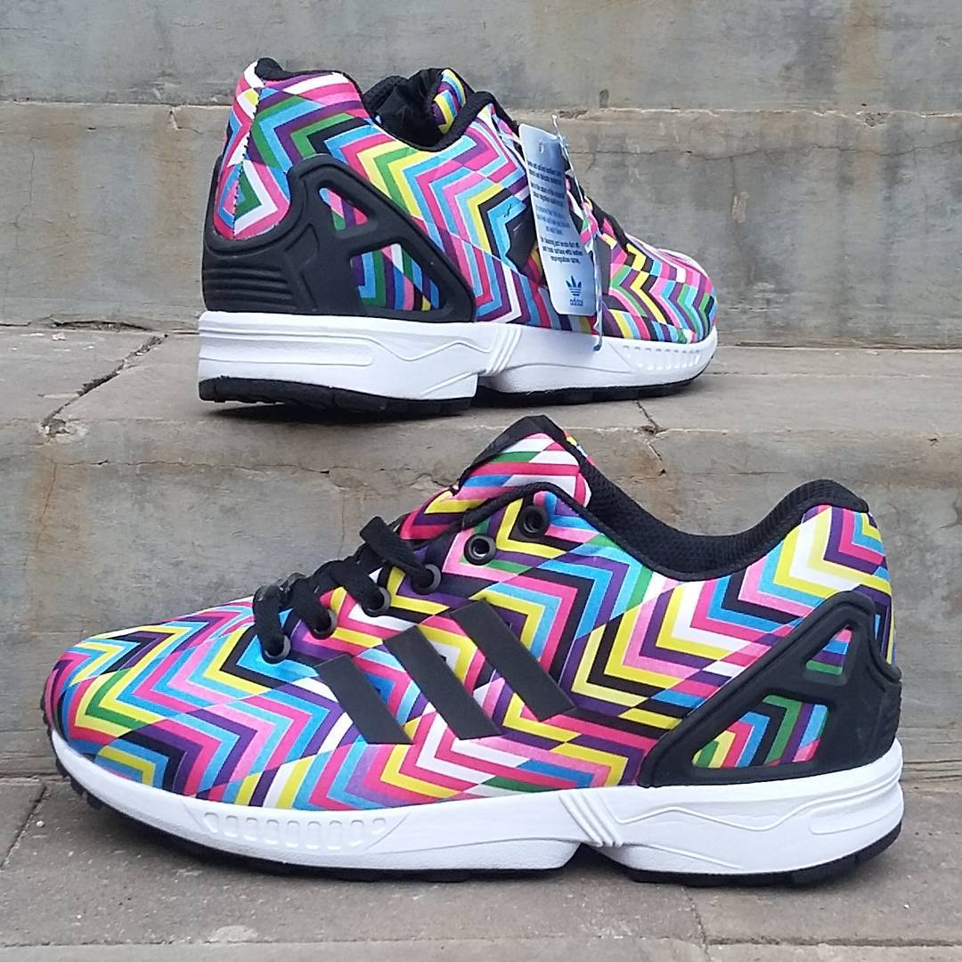 ce5a542c4a774 Jual Sepatu Adidas ZX Flux Women Premium (Rainbow) - DKI Jakarta - Mr  Sepatu Branded