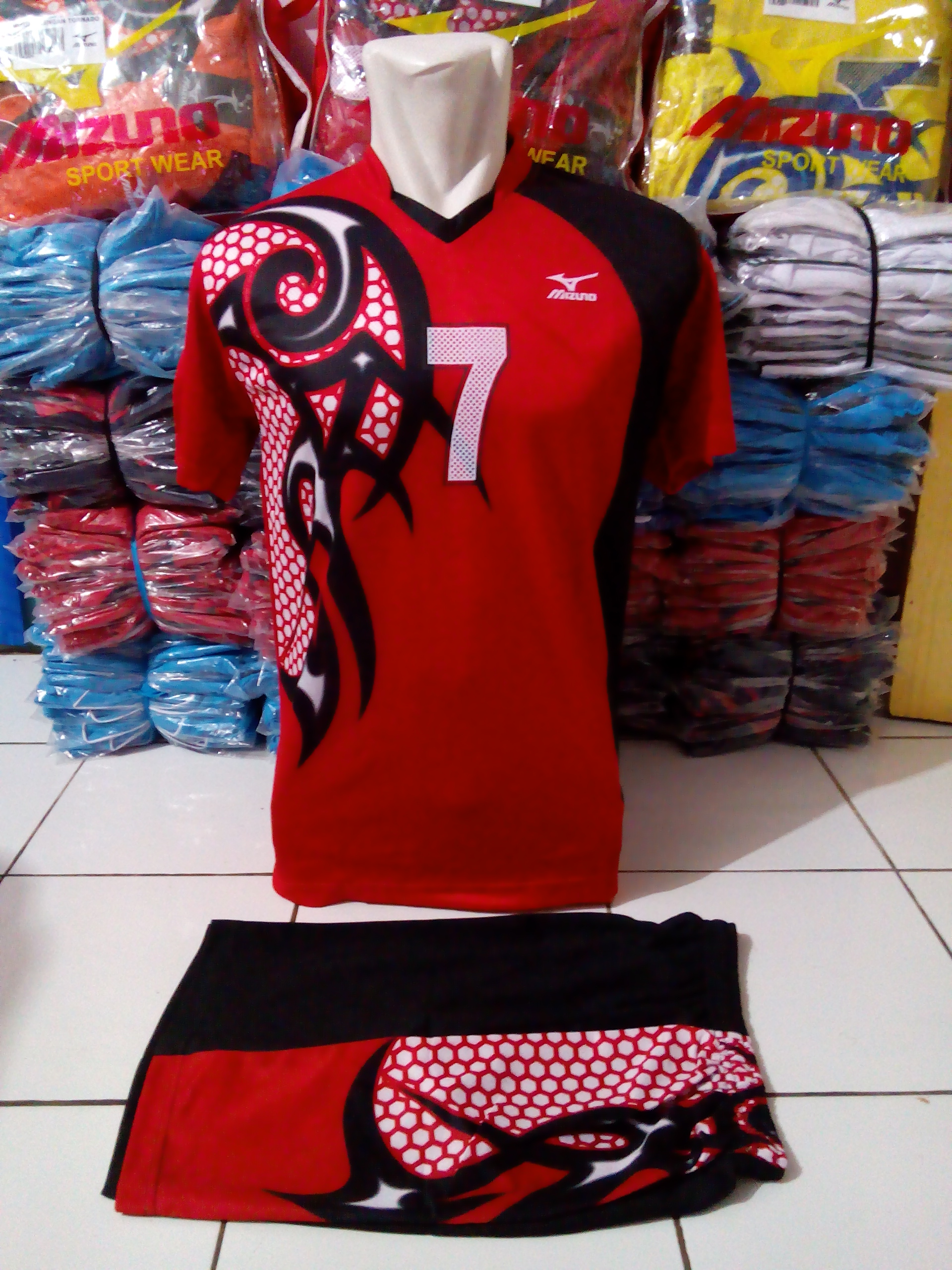 Buy Kaos Voli Mizuno Terbaru 57 Off Fitur Baju Olahraga Jersey Sepak Bola Setelan Futsal Volly