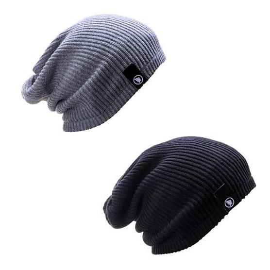 Hrcn Hwd 8023 Topi Kupluk Pria Knitting Keren Abu Tua - Update ... 26ec5f66d2