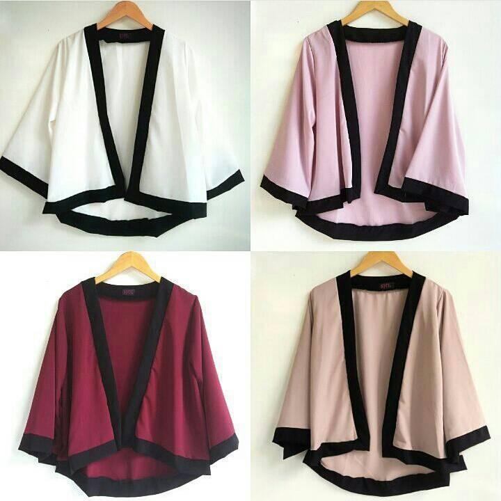 Jual pastel kimono / cardi kimono / kimono cardigan - Tante Shop ...