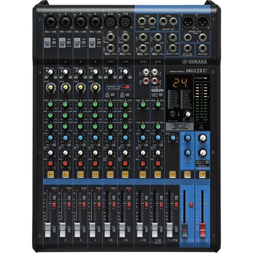 harga Yamaha MG12XU - 12-Input Mixer with Built-In FX and 2-In/2-Out USB Tokopedia.com