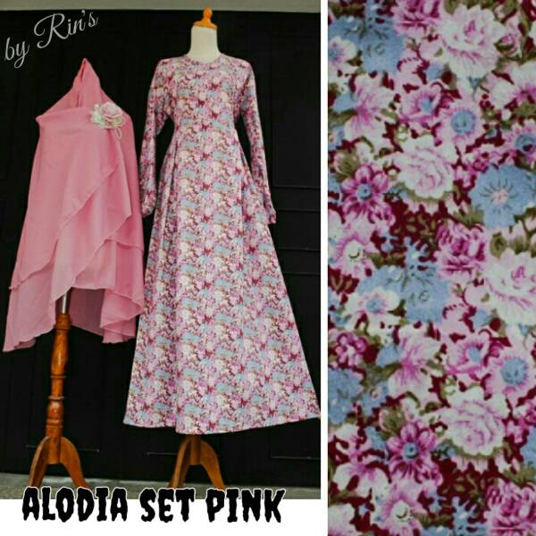 alodia syari ori rins / supplier baju hijab