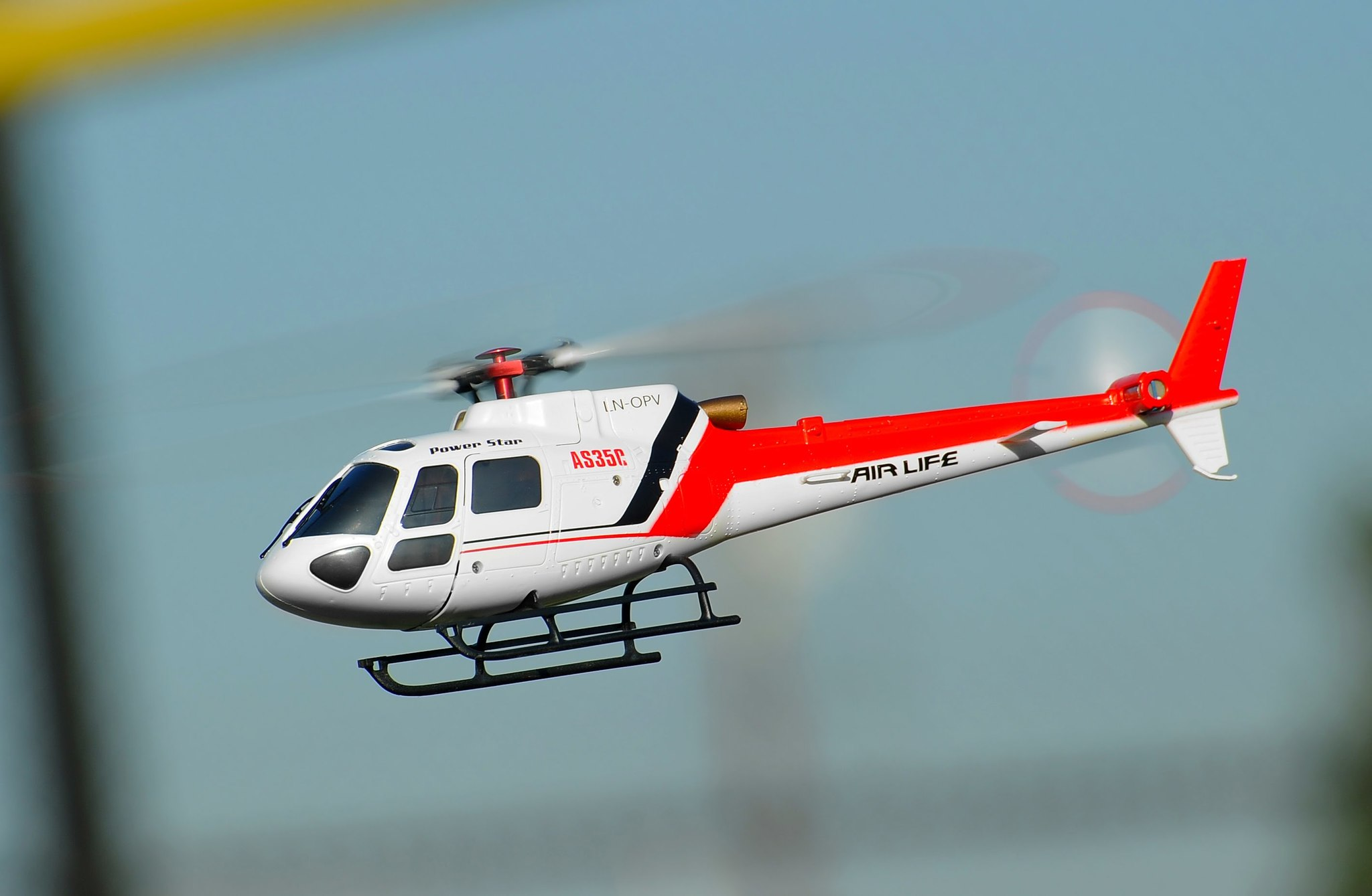 HobbyMall WL V931 2.4G 6CH Brushless AS350 Scale RC Heli