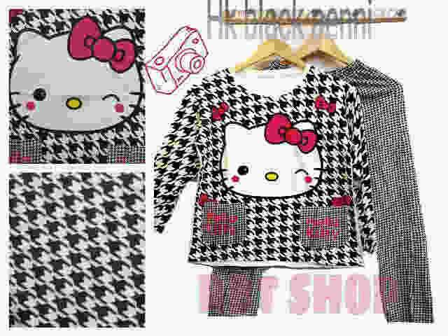 Jual Baju Tidur Karakter Black Penny Hello Kitty - Pasar OnLine